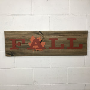 "Horizontal Signs - 2 Board - 36"" - PC"