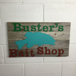 Men's Barnwood Sign Options