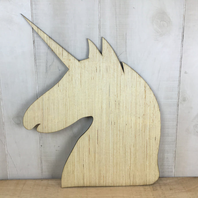 Unicorn Door Hanger Blank - Local Pickup