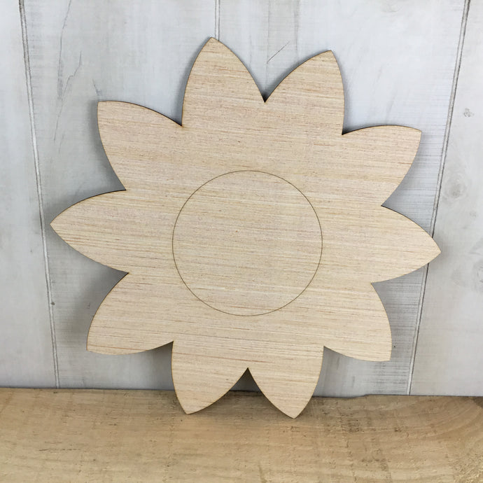 Sunflower Door Hanger Blank - Free Shipping