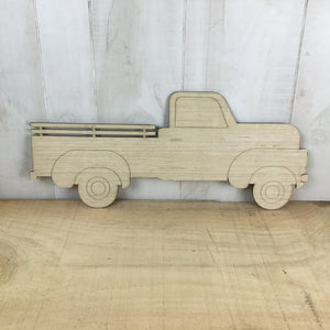 Pickup Truck - Stake Bed - Door Hanger Blank - Local Pickup