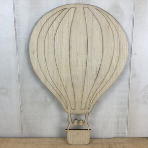 Hot Air Balloon Door Hanger Blank - Local Pickup