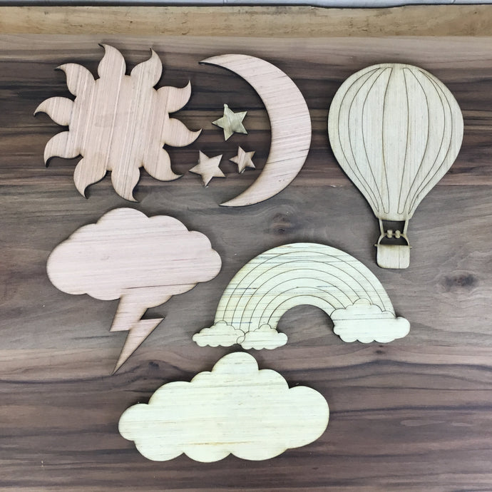 Sun and Sky 6 Piece Craft Kit - Free Shipping