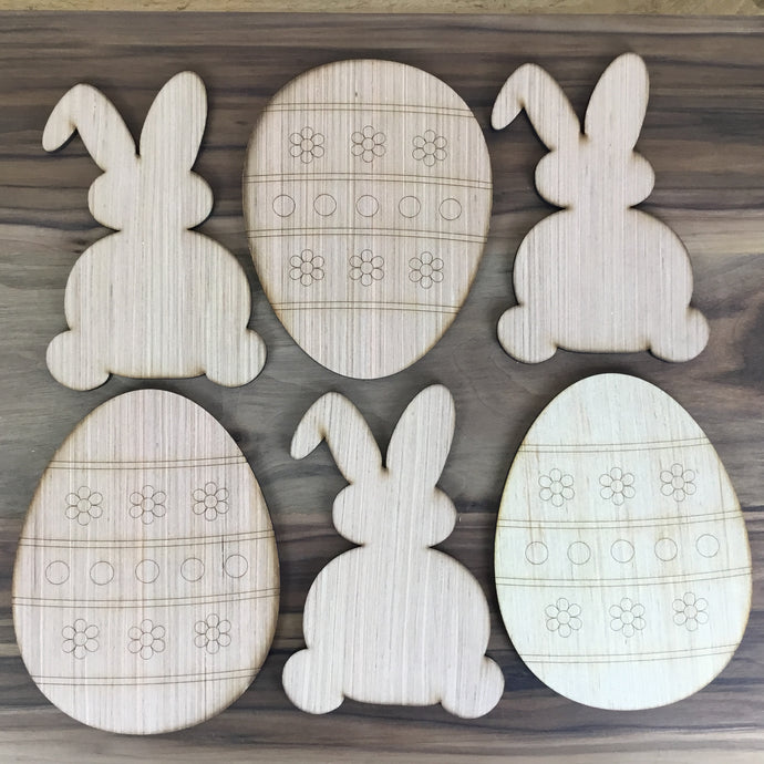 Egg and Bunny Craft Kit - Local Pickup