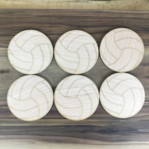 Volleyball 6 Piece Craft Kit - Free Shipping