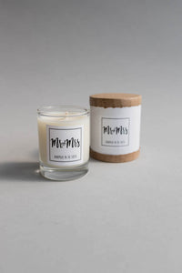 Mr + Mrs Candle Mini