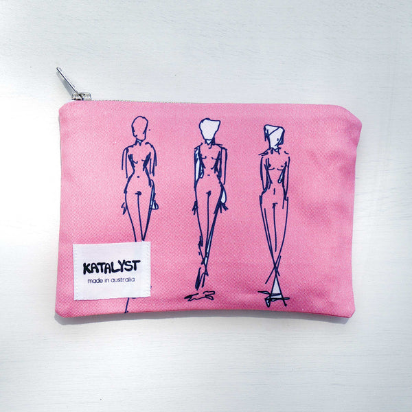 Bodies Zip Pouch - KATALYST DESIGN