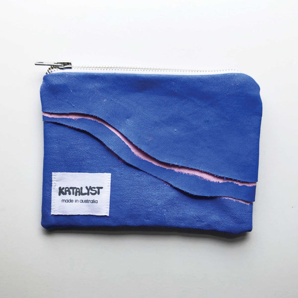 Painted Zip Pouch - KATALYST DESIGN
