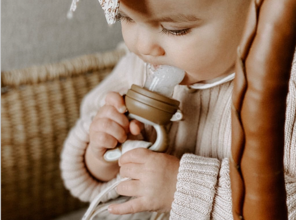 Frozen Breastmilk Pops: a recipe   to get your baby more nutrients