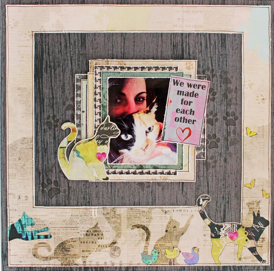 TUTORIAL: C119 SPILT MILK SINGLE PAGE LAYOUT BY LISA-MARIE WATLING