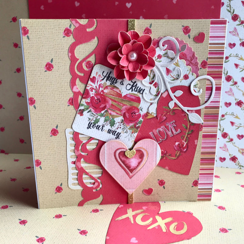 TUTORIAL: C116 LOVE STORY CARD QUARTET BY VANESSA BESTER