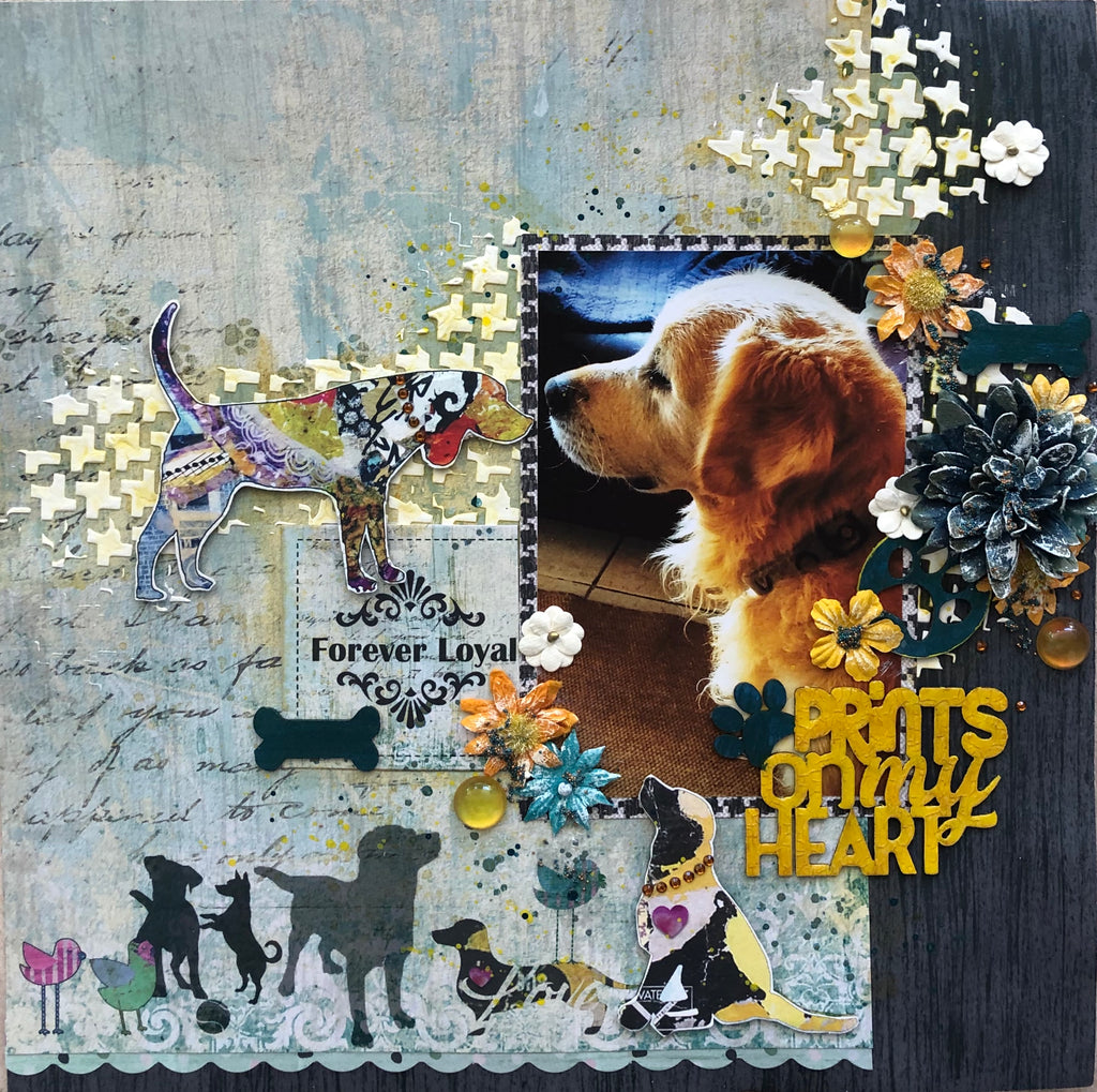 TUTORIAL: C119 SPILT MILK SINGLE PAGE LAYOUT BY MOIRA GILOWEY
