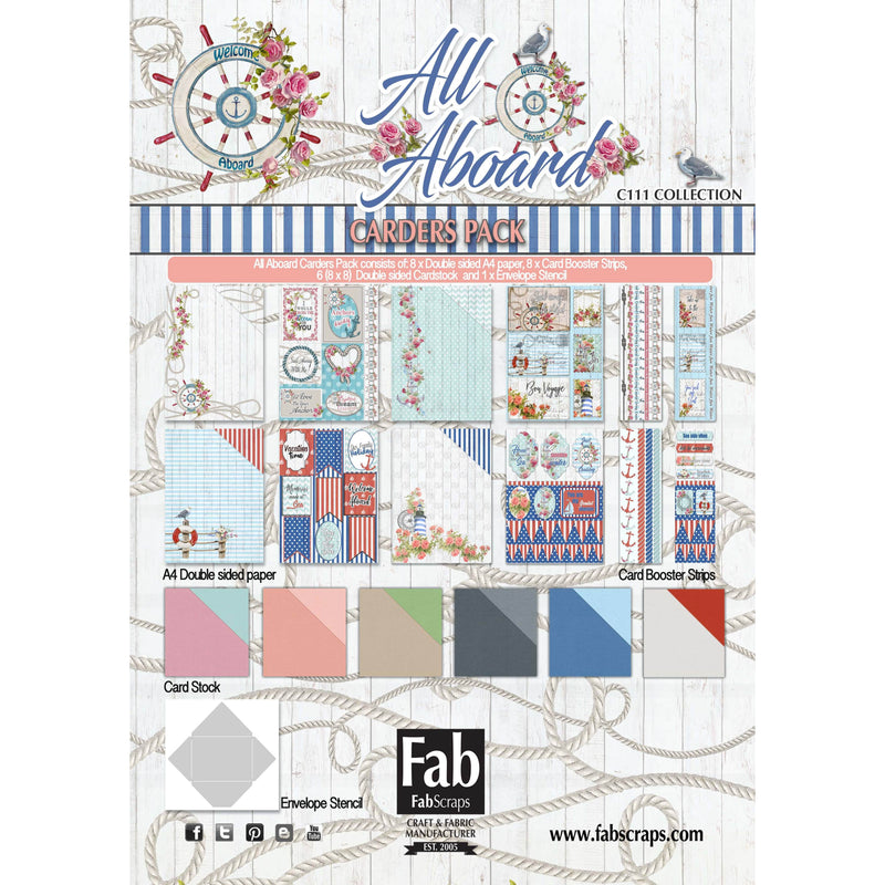 All Aboard Card Kit