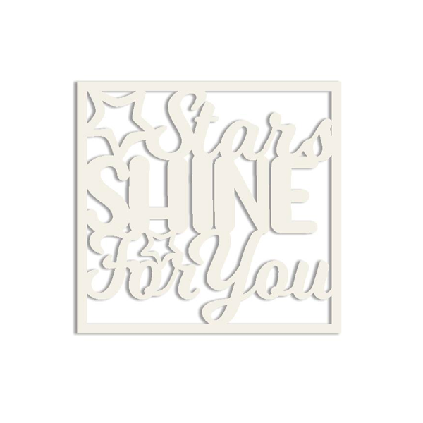 Hello! I'm New Die-Cut: Stars Shine For You