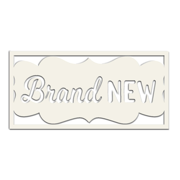 Hello! I'm New Die-Cut: Brand New
