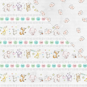 Hello! I'm New 12'x12' Double-Sided Patterned Paper- Love And Laughter