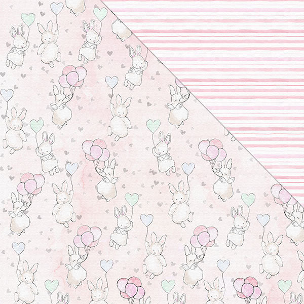 Hello! I'm New 12'x12' Double-Sided Patterned Paper- Isn't She Lovely