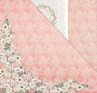 A Moment In Time (12'x12') Double-Sided Patterned Paper- From The Heart