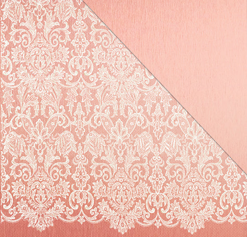A Moment In Time (12'x12') Double-Sided Patterned Paper- Sealed With A Kiss