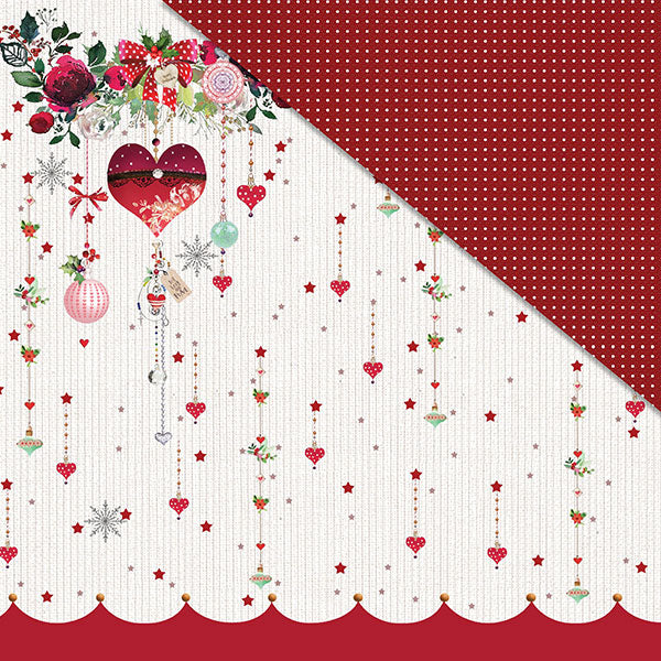 Holly Jolly Christmas (12'x12') Double-Sided Patterned Paper- 'Tis The Season