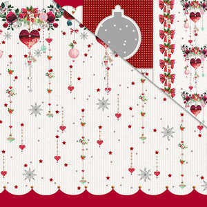 Holly Jolly Christmas (12'x12') Double-Sided Patterned Paper- Happy Holly Days