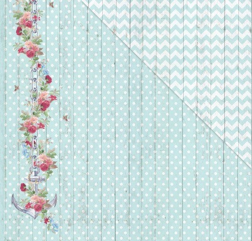 All Aboard (12'x12') Double-Sided Patterned Paper- Just Cruising