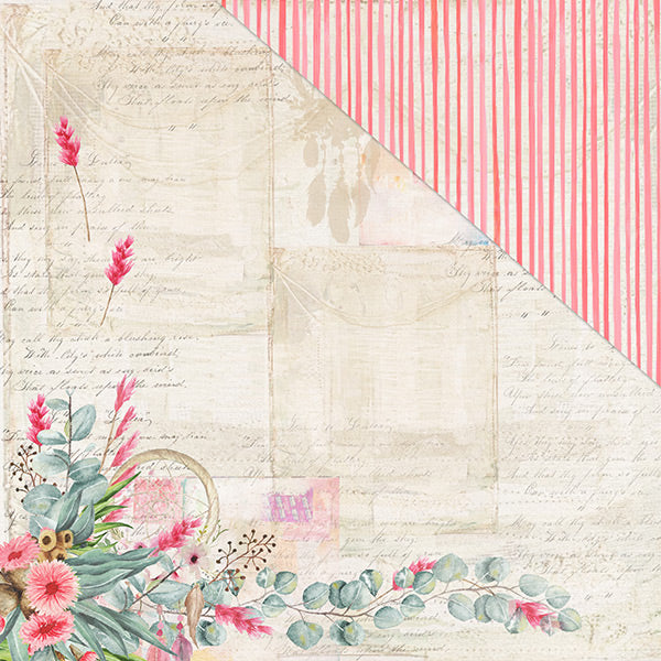 Free Spirit (12x12) 170gsm patterned paper- Believe In Magic
