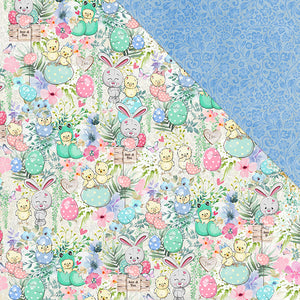 Egg-Stravaganza (12x12) 170gsm patterned paper- The Hunt Is On!