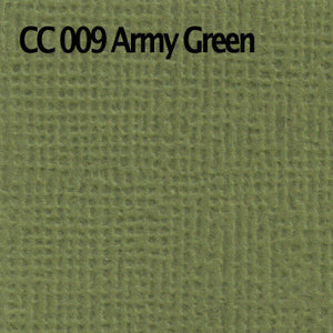 Textured Cardstock- Army Green