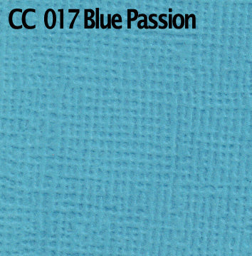 Textured Cardstock- Blue Passion