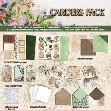 Wild & Free Carders Pack
