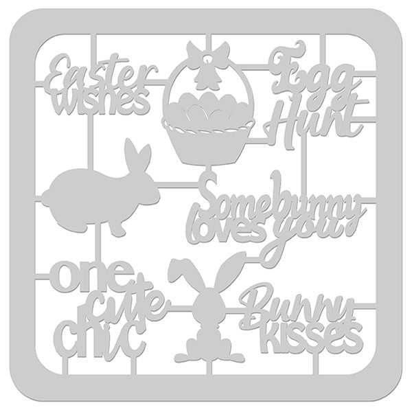 Egg-Stravaganza Die-Cut with Frame