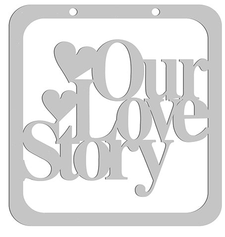 Love Story Die-Cut Album