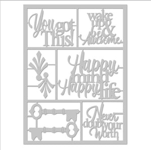You Got This Die-Cut with Frame