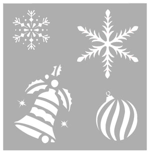 PVC Stencil- Holly Jolly