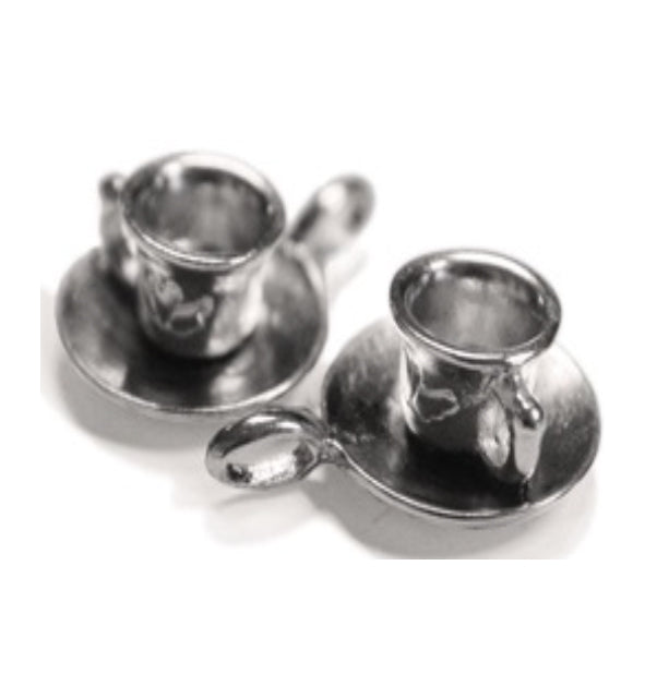 Silver Charms- Cup & Saucer