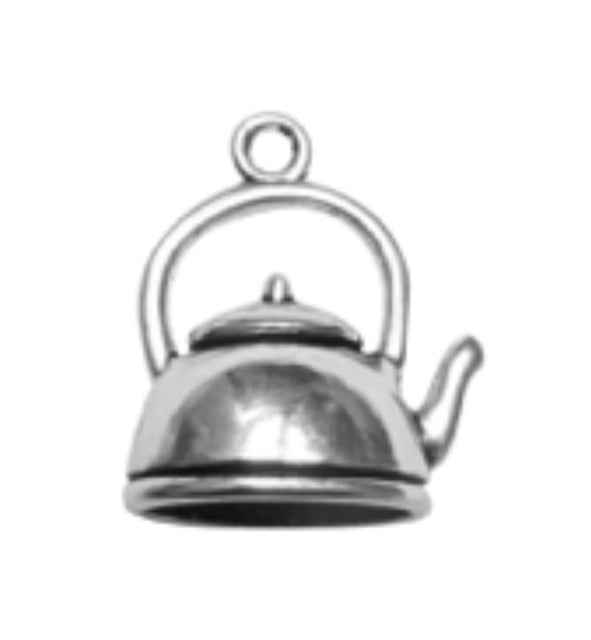 Silver Charms- Kettle