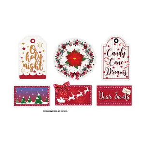 Holly Jolly Christmas Small Sticker