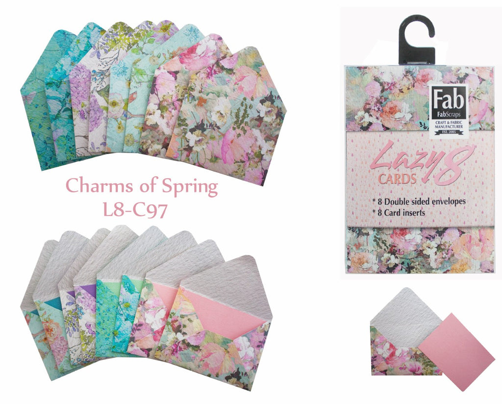 Charms Of Spring Lazy 8 Card Kit