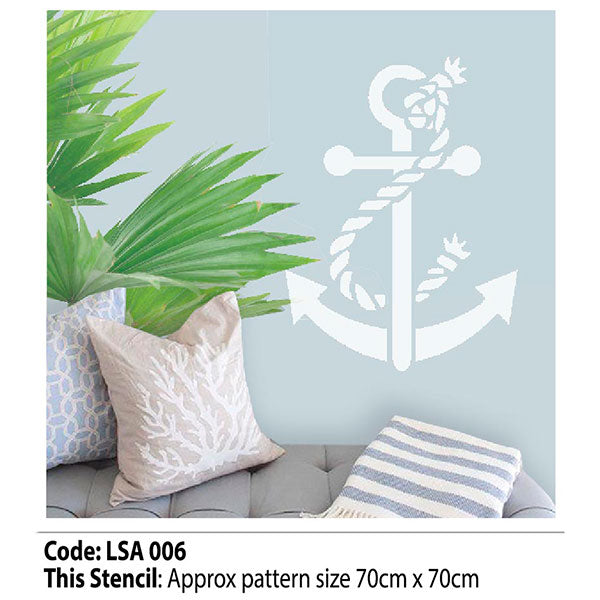 Nautical Wall Stencil