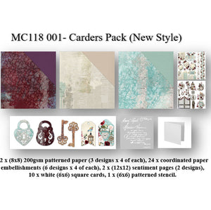 Antique Elegance Carders Pack