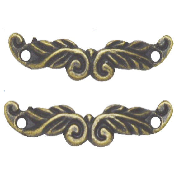 Brass Charms- Filigree Handle