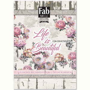 Life is Beautiful Paper Pad-A4