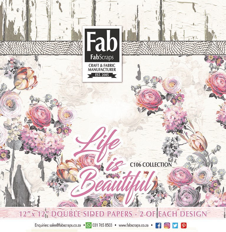 Life Is Beautiful Paper Pack