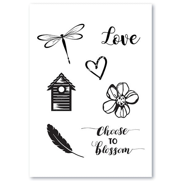Silicone Stamp- Love