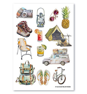 Wanderlust Large Sticker Sheet