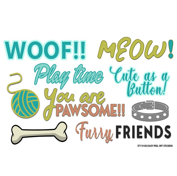 PAWsome Sticker Sheet