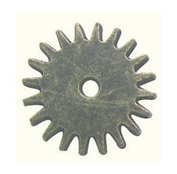 Brass Charms- Cogs