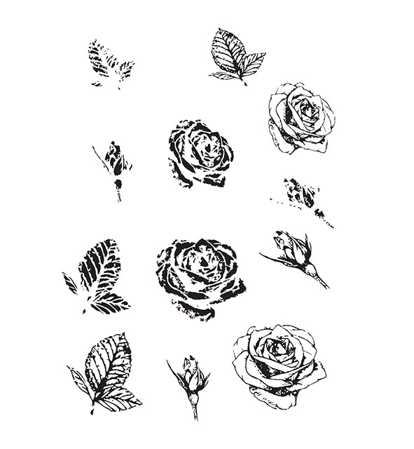 Budding Rose Silicone Stamp