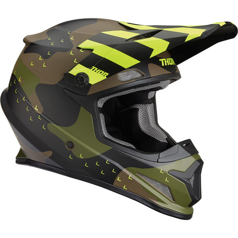 Thor Sector Mosser Green Camo Helmet - All sizes